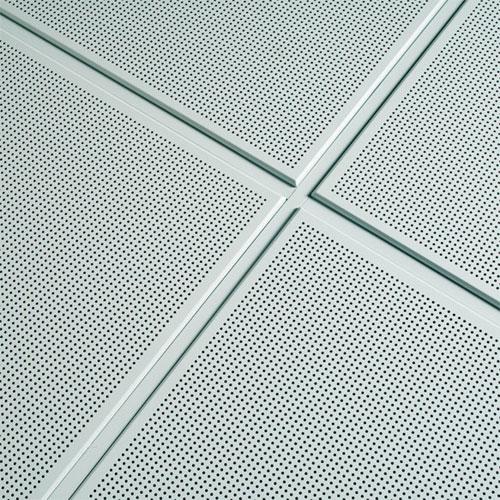 placa descolgada techo metálico